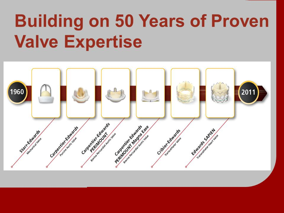 Building on 50 Years of Proven Valve Expertise