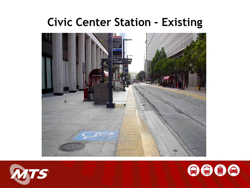 Civic Center Station - Existing