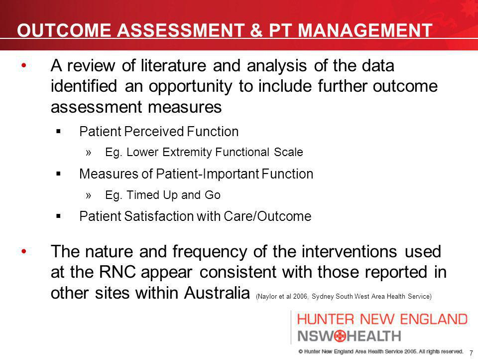 8 PHYSIOTHERAPY MANAGEMENT