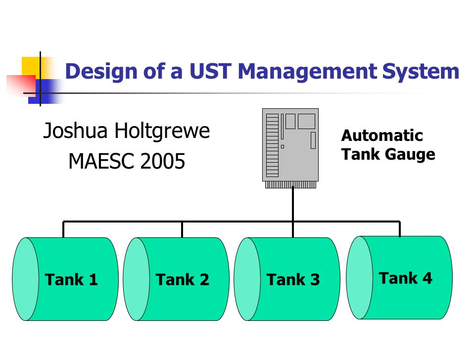 Introduction to USTs Memphis, Light, Gas, & Water currently stores fuel for its motor vehicle operations in 20 tanks at 11 sites throughout Memphis and Shelby County This fuel is stored in underground storage tanks (USTs) The double walled tanks must be monitored in order to ensure compliance with Tennessee Dept.