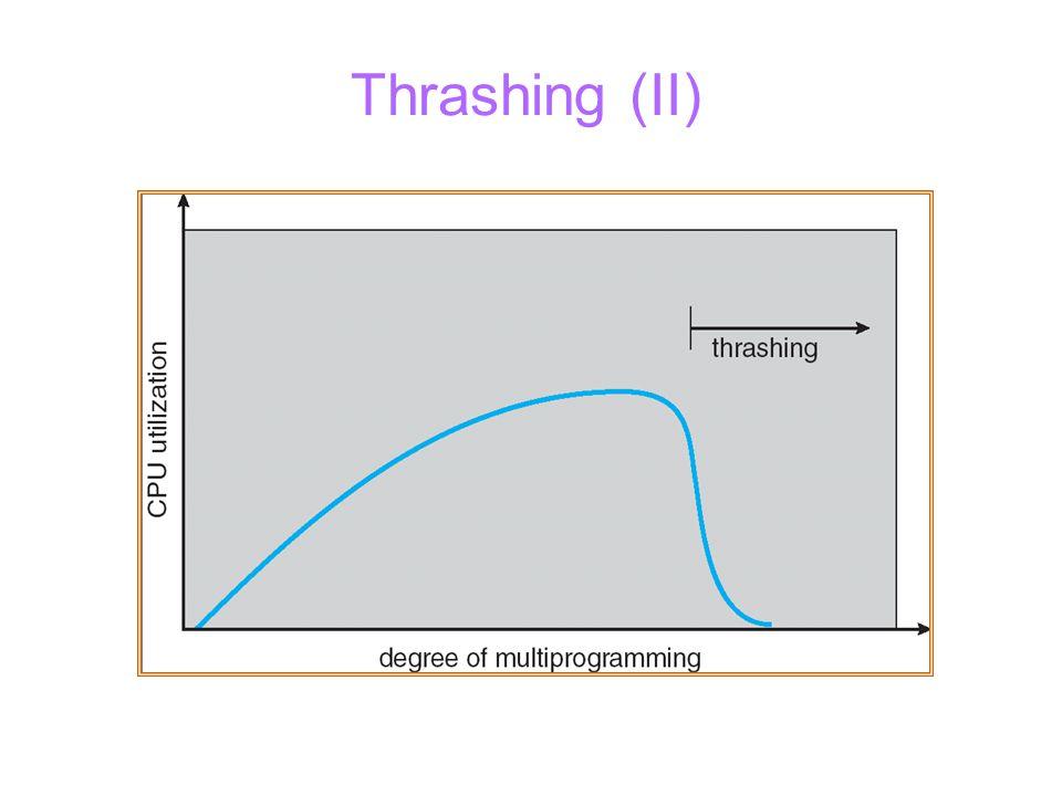 Thrashing (II)