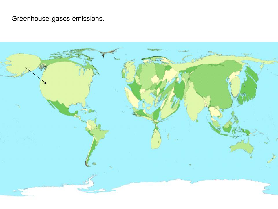Greenhouse gases emissions.