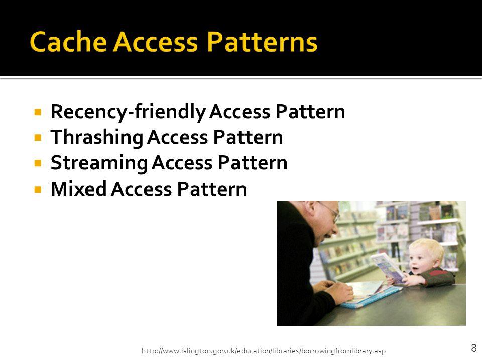 Mixed Access Pattern a1, a2, a2, a1, b1, b2, b3, b4, a1, a2 Cache Hit: 1.