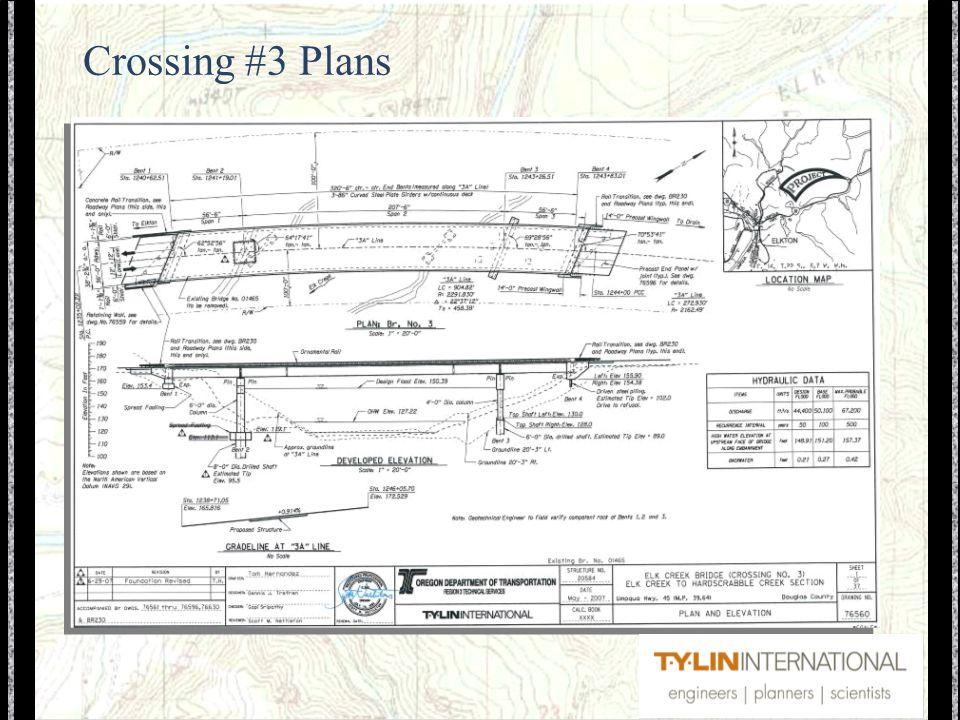 Crossing #3 Plans