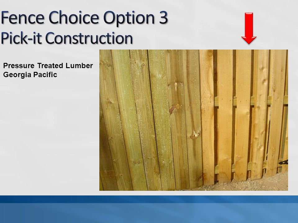 Pressure Treated Lumber Georgia Pacific