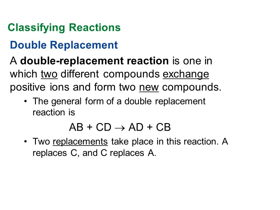 When potassium iodide solution is poured into a solution of lead(II) nitrate, a double-replacement reaction takes place.