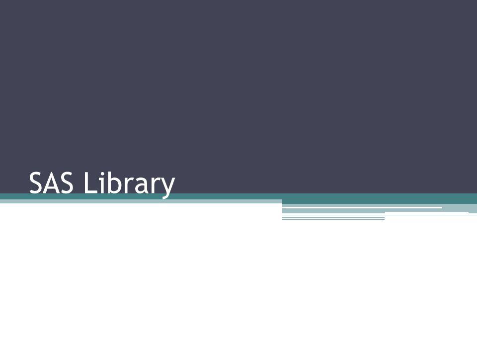 SAS Library