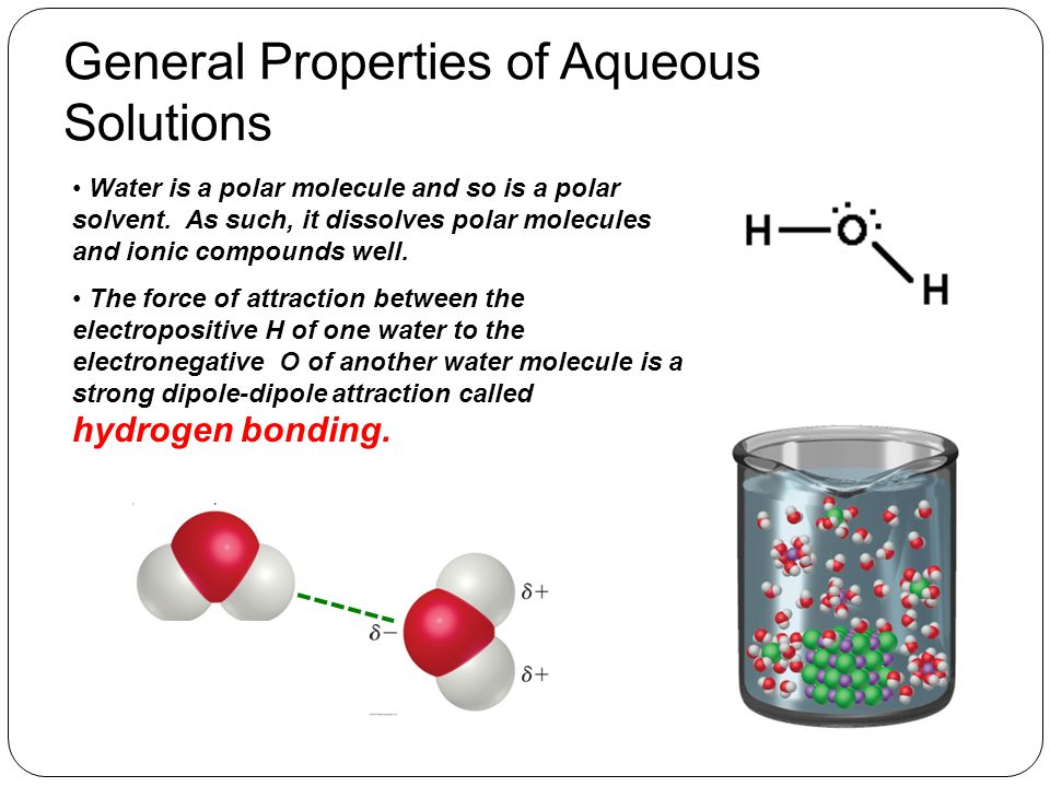 What Happens When Ionic Compounds Dissolve in Water When ionic compounds dissolve in water, they separate into their component ions.