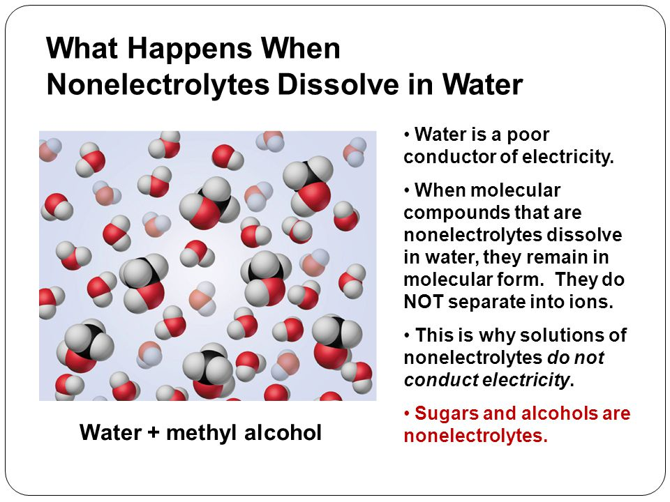 Predicting What Happens When Ionic Compounds Dissolve in Water Ionic compounds are strong electrolytes.