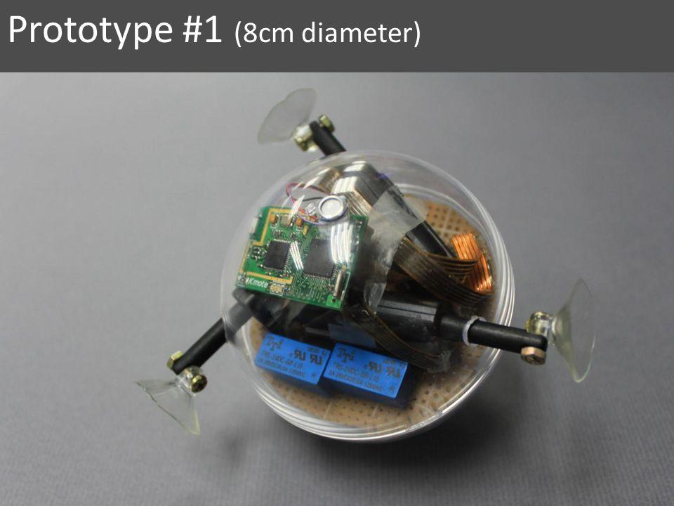 Prototype #1 (8cm diameter)