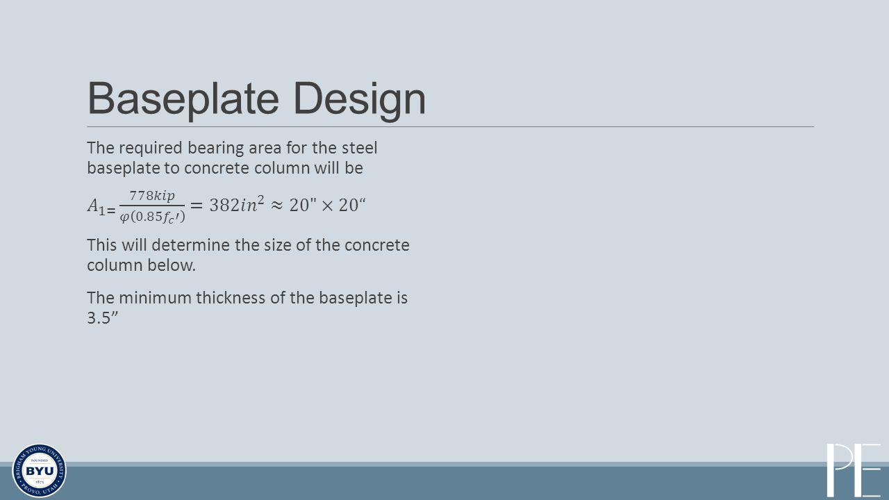 Baseplate Design