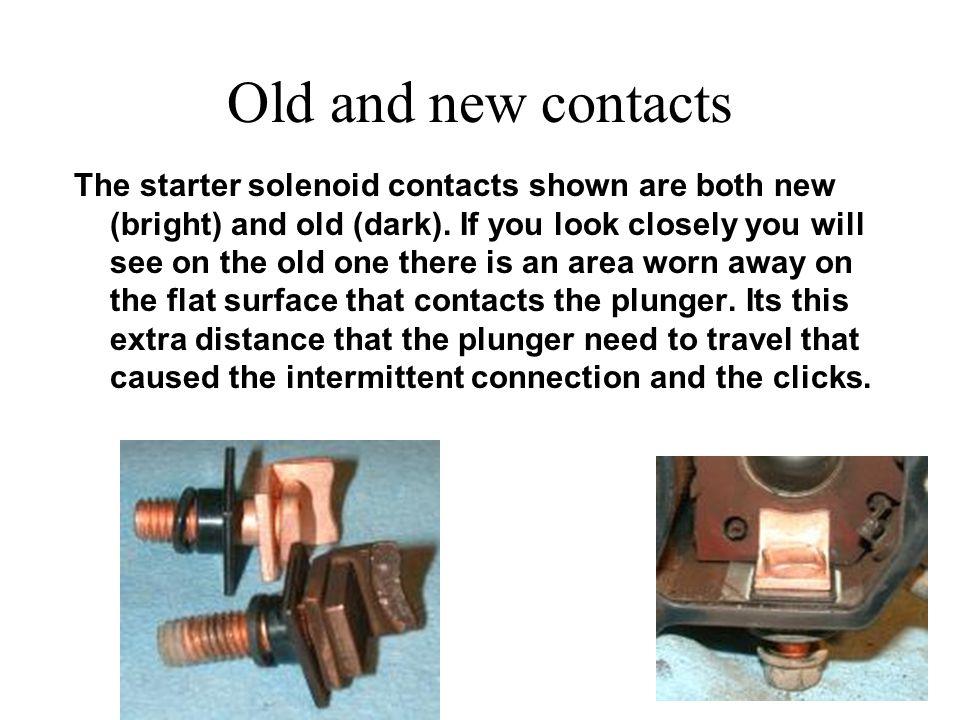 Clean up the plunger Clean up the plunger as shown. Use light grade sandpaper