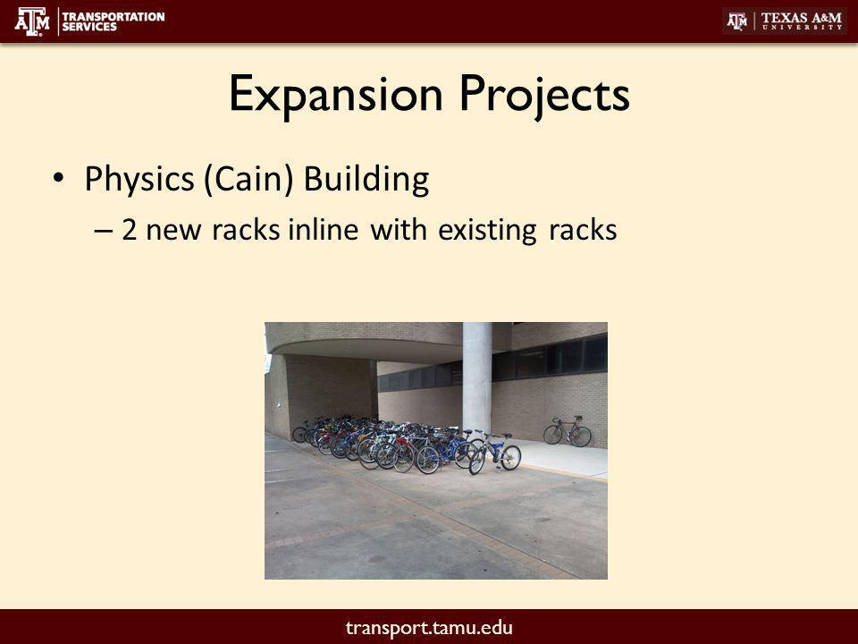 transport.tamu.edu Replacement Project G. Rollie – 4 Racks