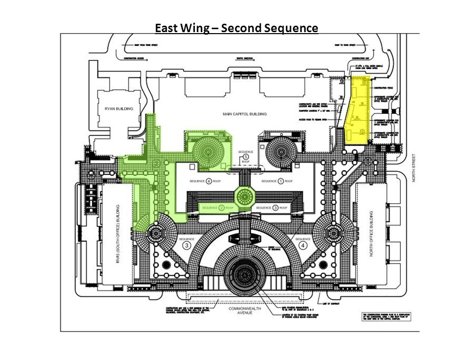 East Wing – Second Sequence