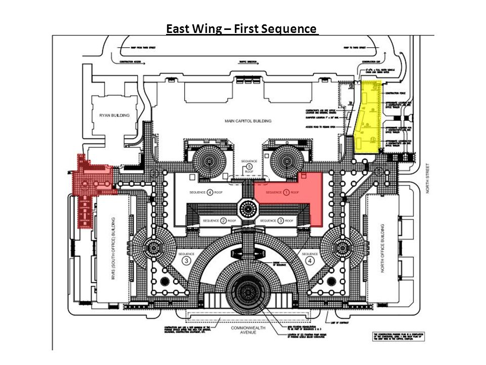 East Wing – First Sequence