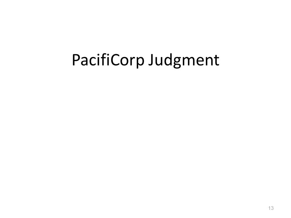 PacifiCorp Judgment 13