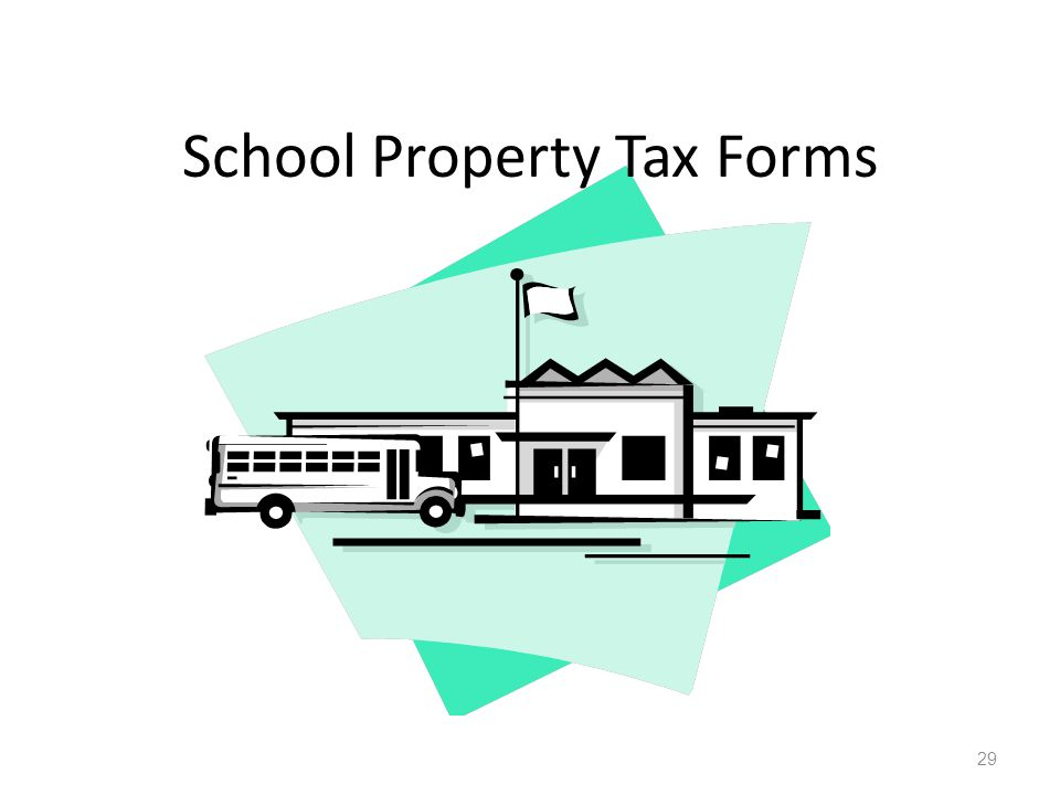 School Property Tax Forms 29