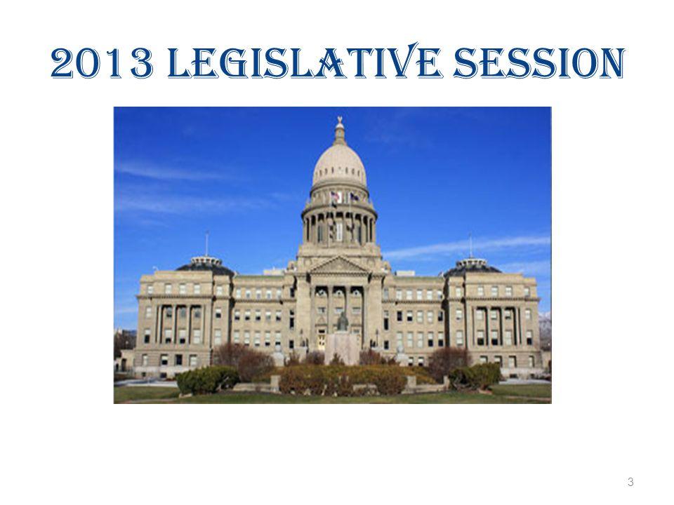2013 Legislative Session 3