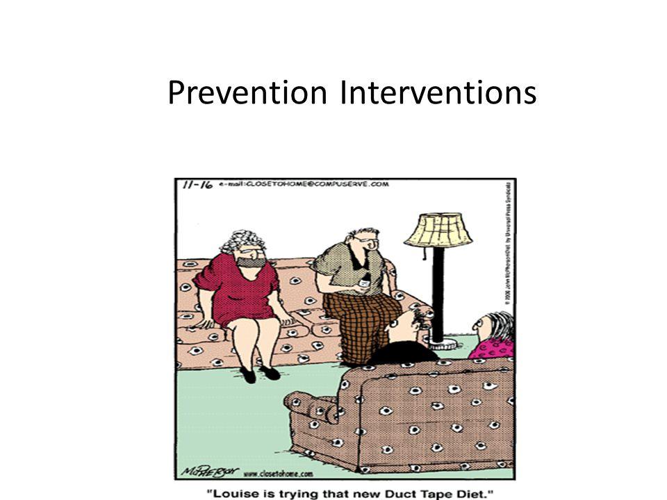Prevention Interventions