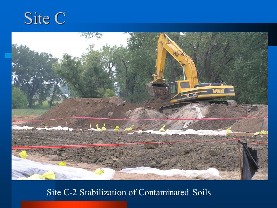 Site C Site C-2 Stabilization of Contaminated Soils