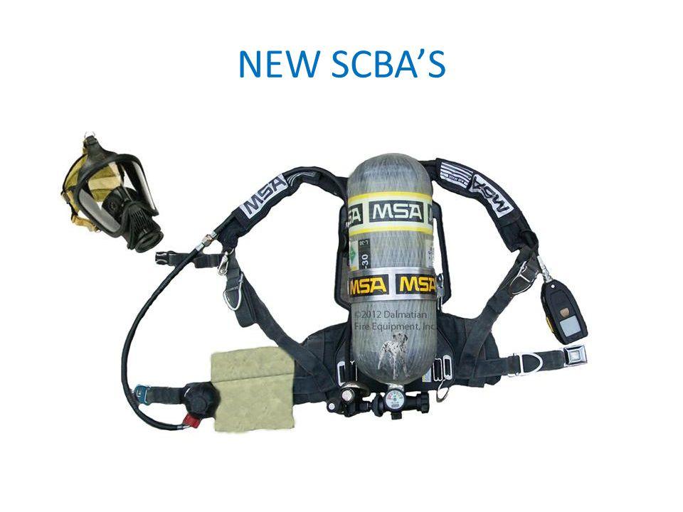 NEW SCBAS
