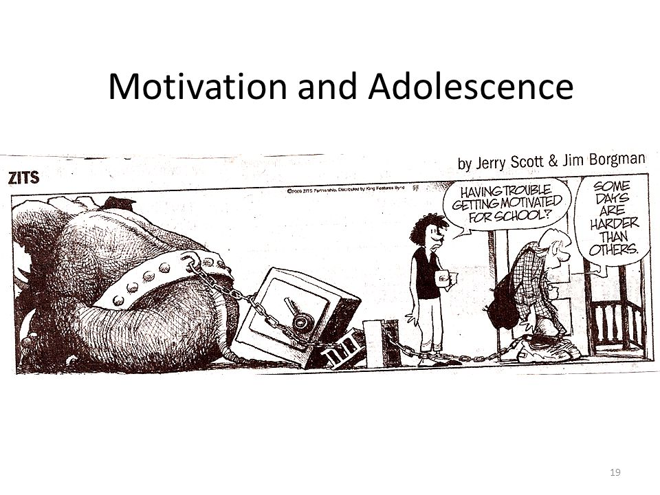19 Motivation and Adolescence