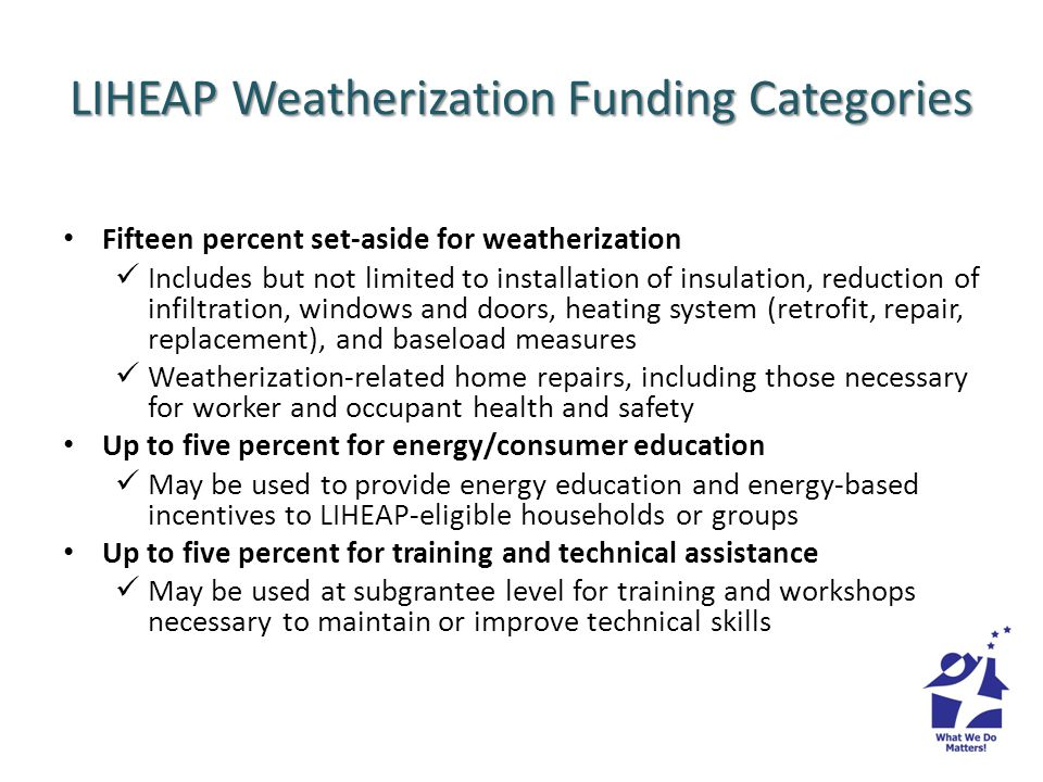 How is Oregons LIHEAP Program different from other efficiency programs.