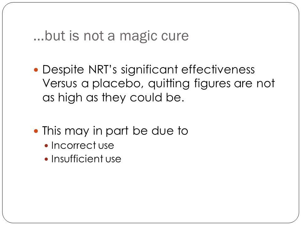 Nicotine Nasal Spray Sutherland et al (1992) Lancet 340: 324-329 RR=2.61 (95%CI: 1.52-4.47)