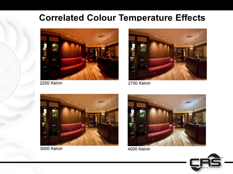 Correlated Colour Temperature Effects