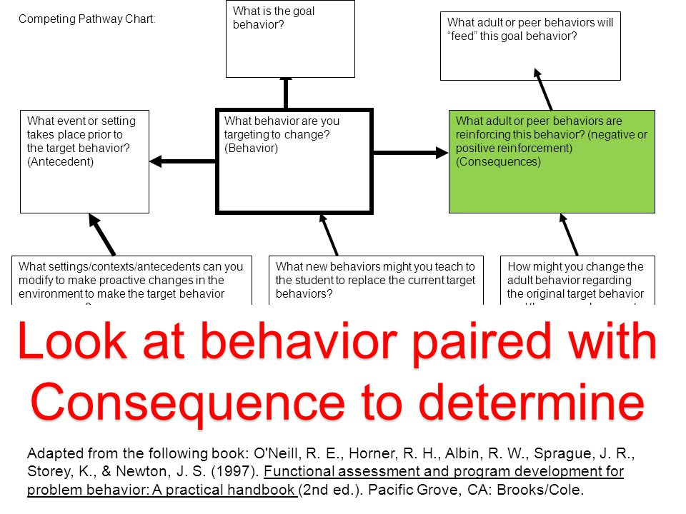 YOUR TOPIC GOES HERE What event or setting takes place prior to the target behavior.