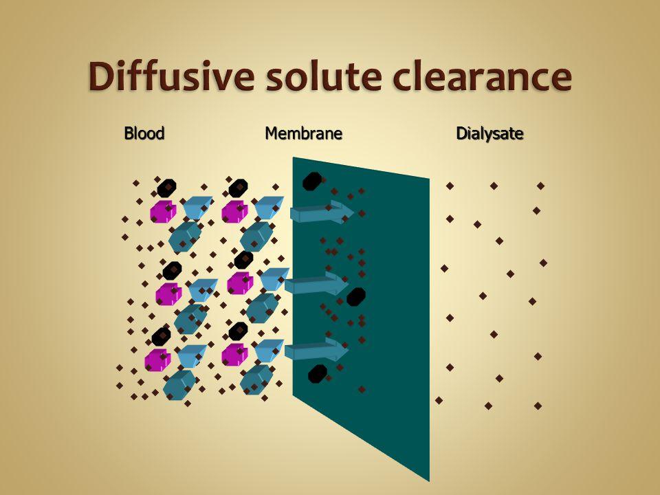 MembraneBloodDialysate