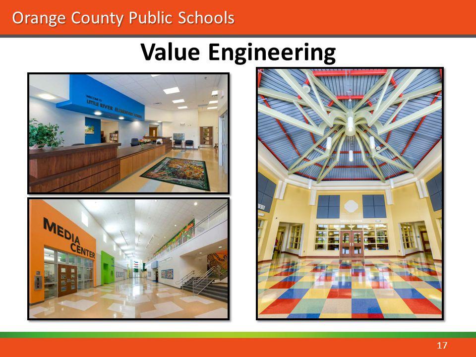 Orange County Public Schools Value Engineering 17