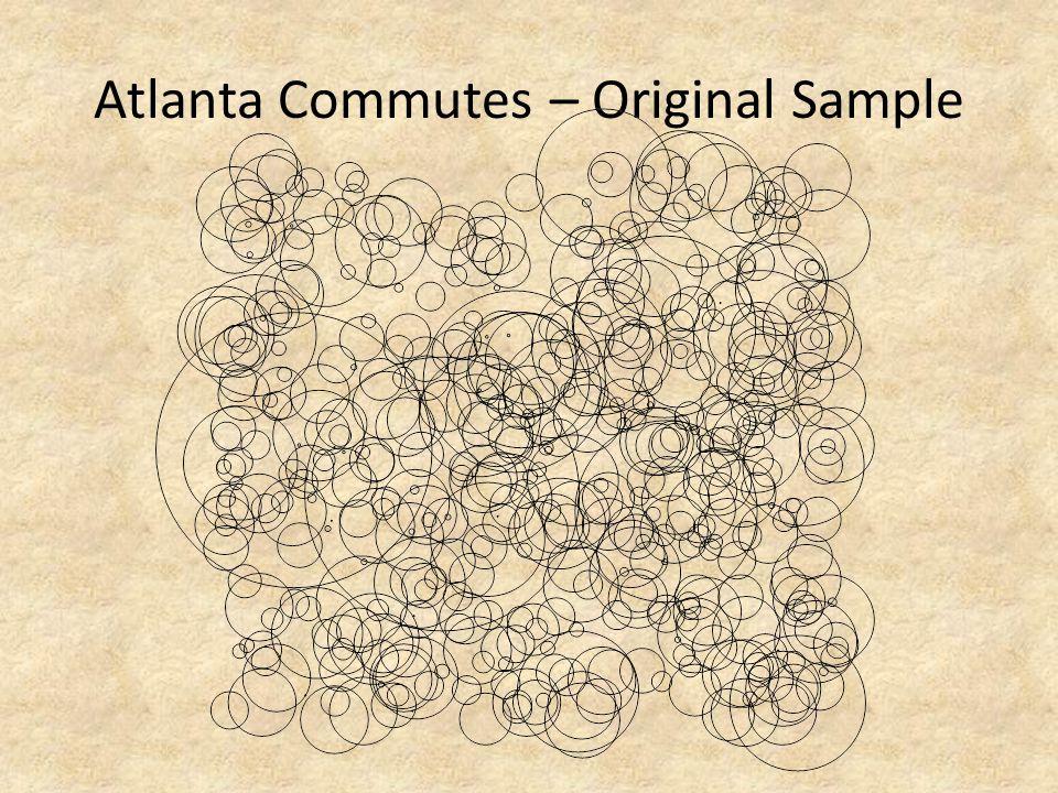Atlanta Commutes – Original Sample
