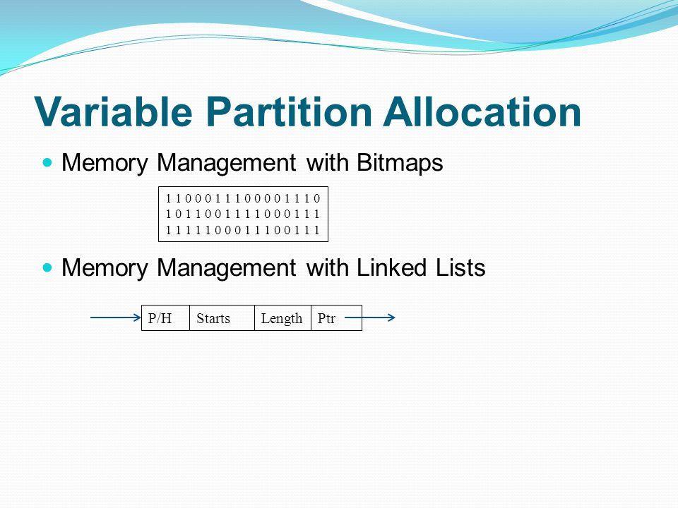 Virtual Memory Memory Hierarchy Address Space Run-time Memory Logical Blocks - Segments Physical Blocks - Pages Primary memory Secondary memory