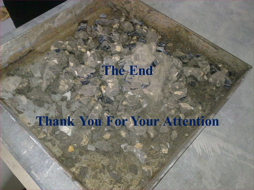 The End Thank you for your attention The End Thank You For Your Attention