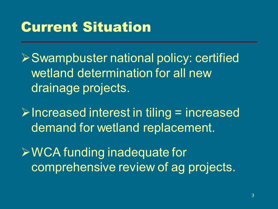 BWSR and NRCS 4 Similar Goals Similar Program Responsibilities Same Clientele Opportunity for Partnerships