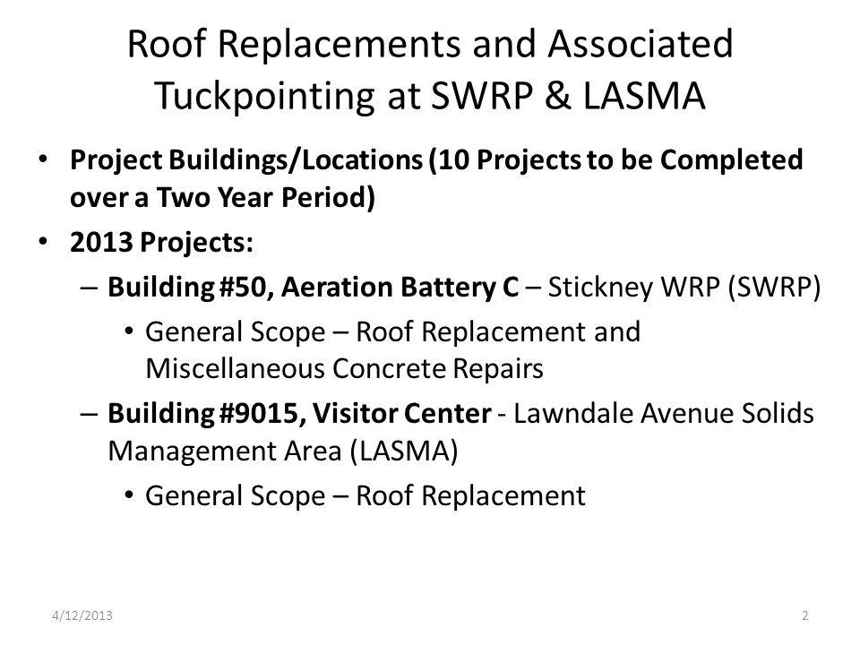 Building #87, Scum Concentration - SWRP 4/12/201323