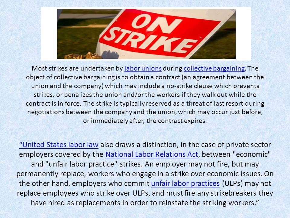 Economic Strike Economic strikers defined.