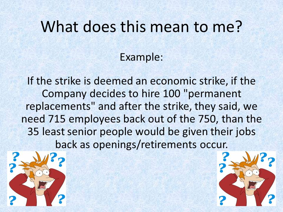 Unfair Labor Practices Unfair labor practice strikers defined.