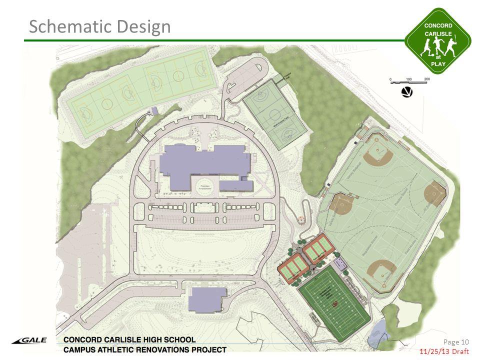 Schematic Design Page 10 11/25/13 Draft