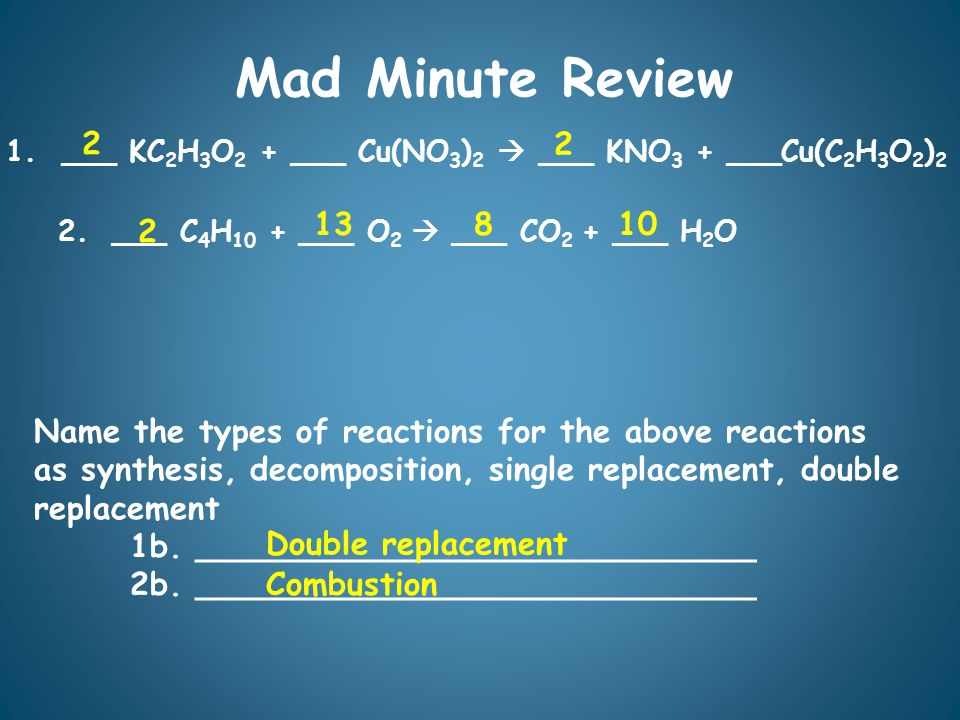 Mad Minute Review 1.
