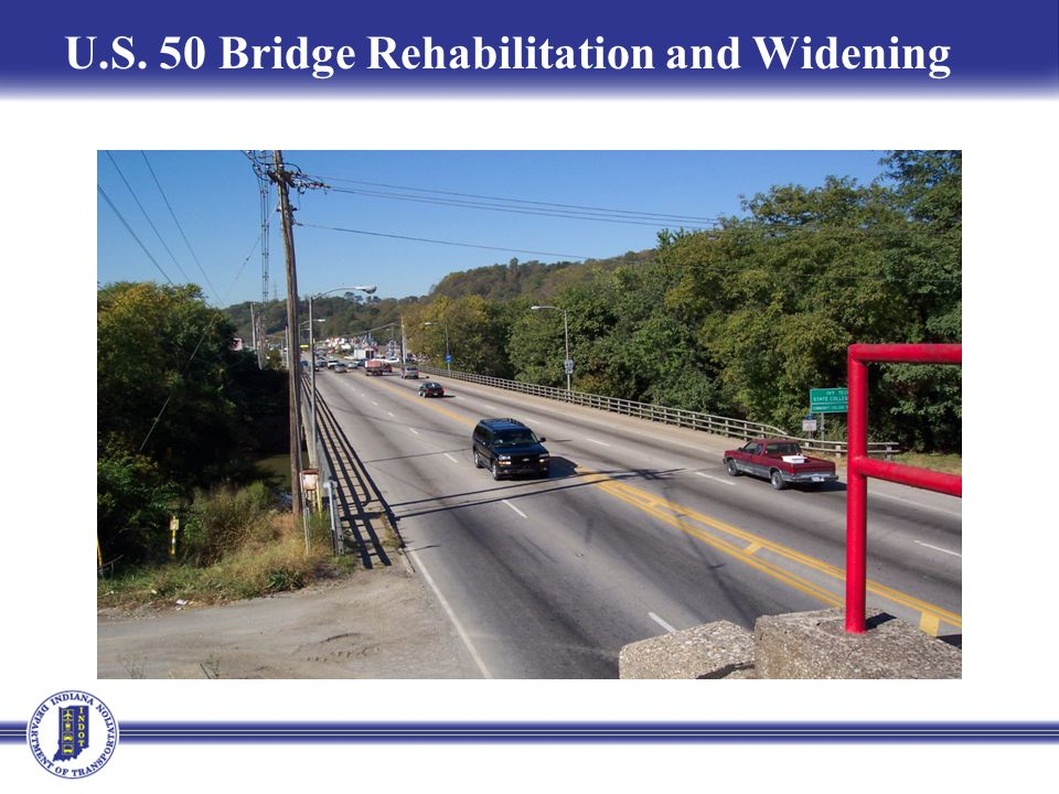 U.S. 50 Bridge Rehabilitation and Widening