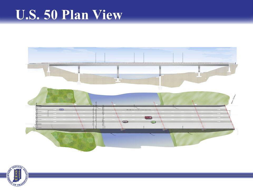 U.S. 50 Plan View