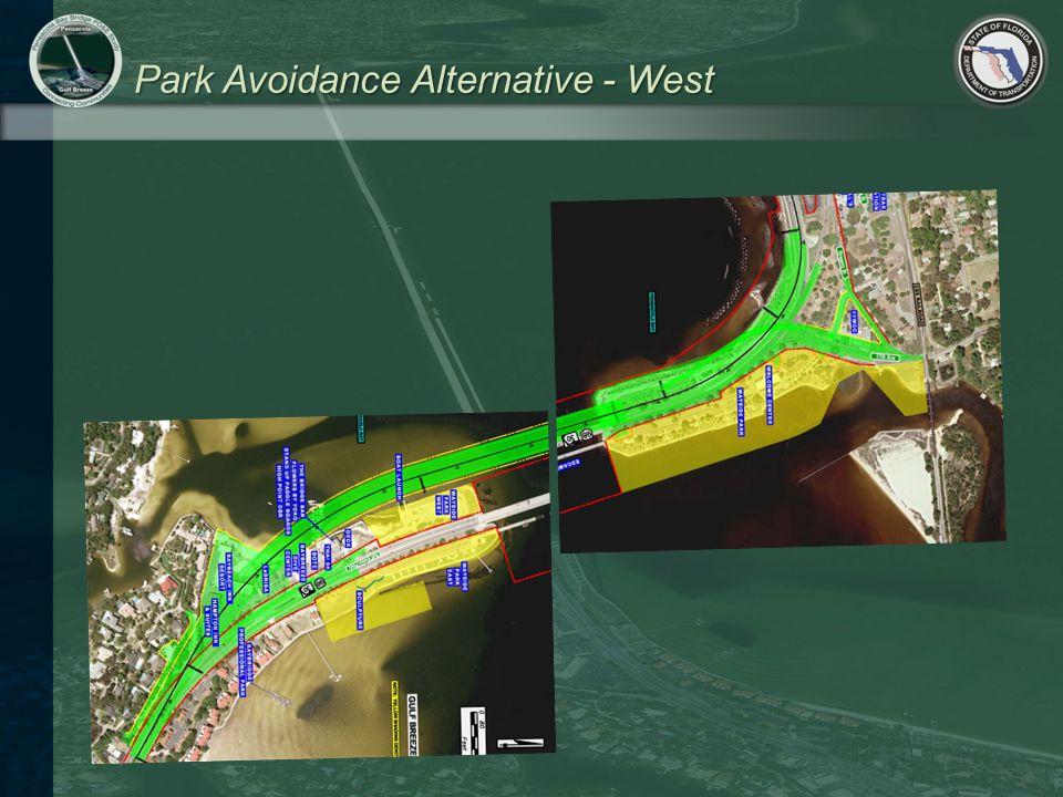 Park Avoidance Alternative - West