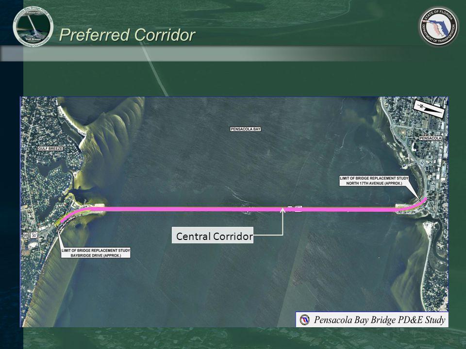 Preferred Corridor Central Corridor