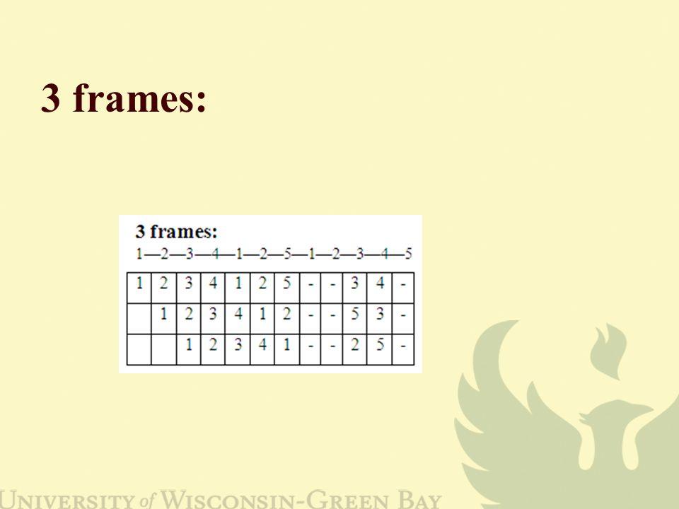 3 frames: