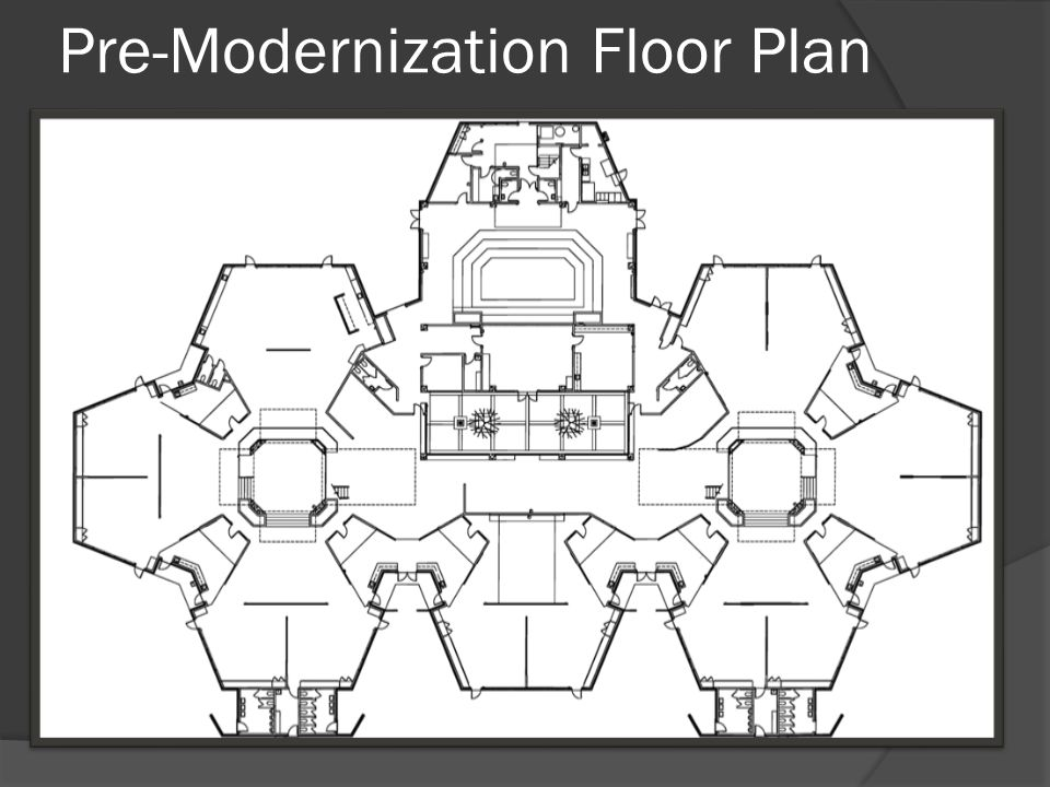 New Administration Floor Plan