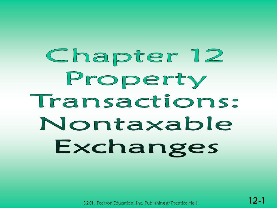 12-1 ©2011 Pearson Education, Inc. Publishing as Prentice Hall