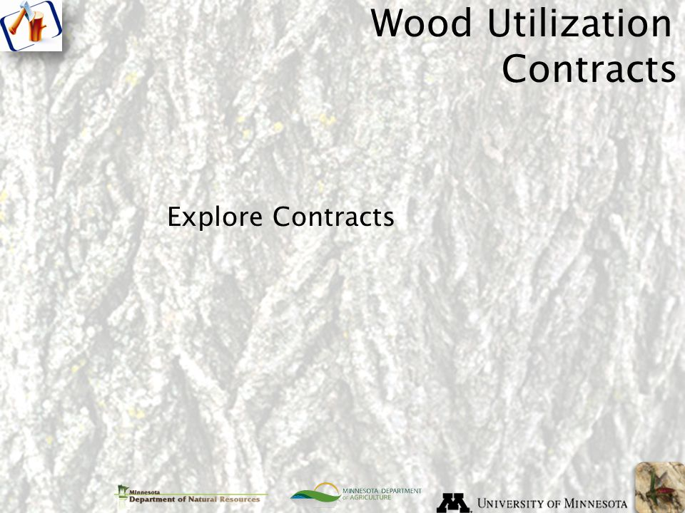Explore Contracts Wood Utilization Contracts