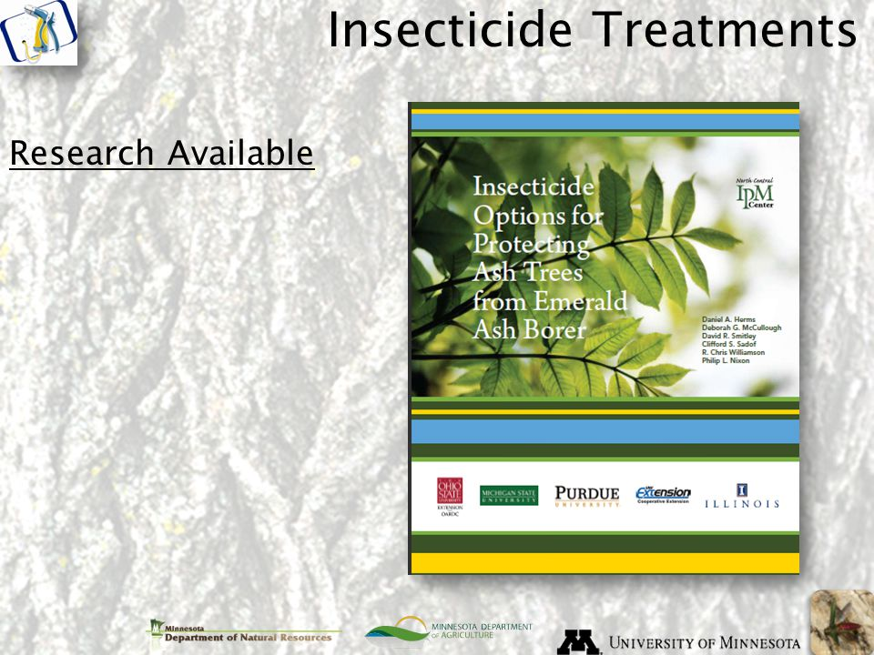 Insecticide Treatments Research Available
